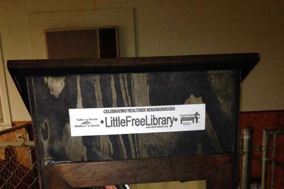 My Little Free Library is ready to go.