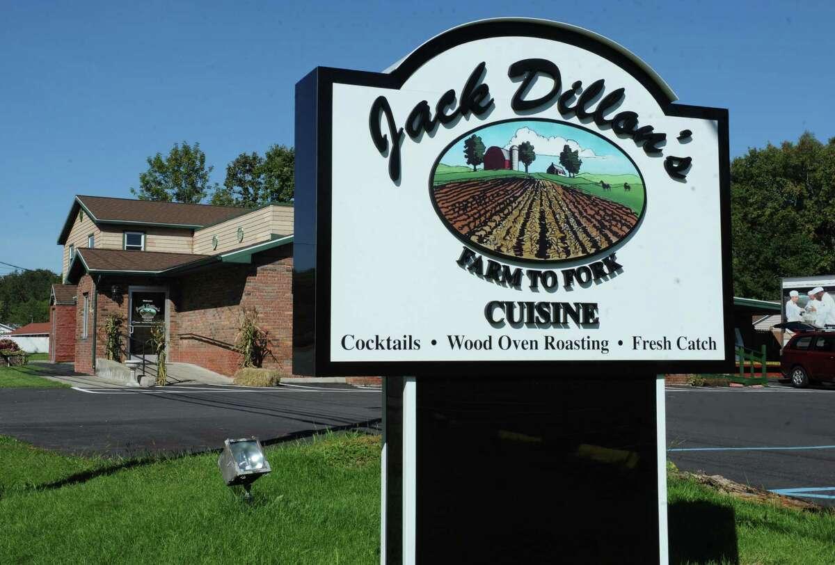 Exterior of Jack Dillon's restaurant on Friday, Sept. 20, 2013 in Saratoga Springs, N.Y. (Lori Van Buren / Times Union)
