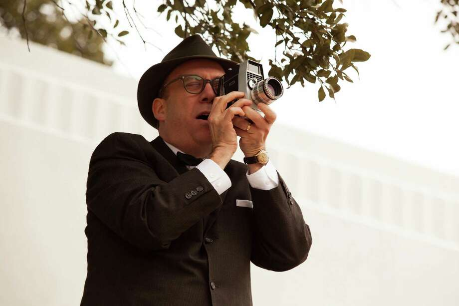 Paul Giamattistarsas Abraham Zapruder, the man who captured the assassination on film. Photo: Claire Folger / ©2013 Exclusive Media Entertainment, LLC. All Rights Reserved.