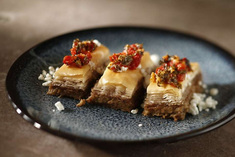 Savory Eggplant Baklava Photo: Craig Lee, Special To The Chronicle