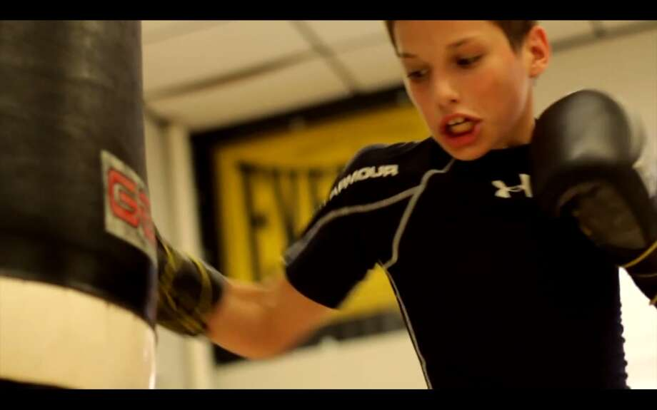 "A screenshot of the YouthFX documentary ""Inside the Ring"" (Times Union screenshot)"