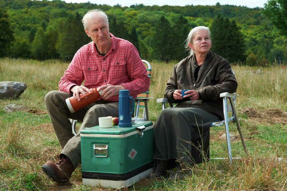 James Cromwell as Craig and Genevieve Bujold as Irene in STILL MINE. Photo: Ken Woroner / ONLINE_YES