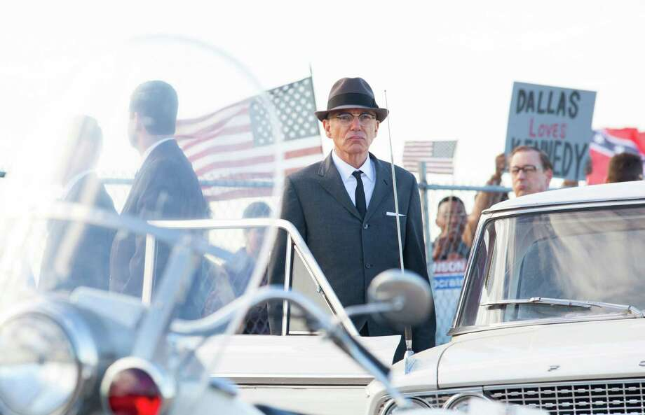 "This film image released by  Exclusive Media Entertainment shows  Billy Bob Thornton as Forrest Sorrels, the head of the Secret Service in Dallas, in a scene from ""Parkland."" (AP Photo/ Exclusive Media Entertainment, Claire Folger) ORG XMIT: NYET129 Photo: Claire Folger / Exclusive Media Entertainment"