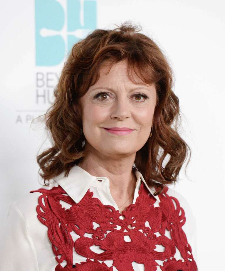 "Actress and honoree Susan Sarandon arrives at the 2nd Annual ""Beyond Hunger: A Place at the Table"" at the Montage Beverly Hills Hotel on Thursday, Sept. 19, 2013 in Beverly Hills, Calif. (Photo by Dan Steinberg/Invision/AP) ORG XMIT: CADS105 Photo: Dan Steinberg / Invision"