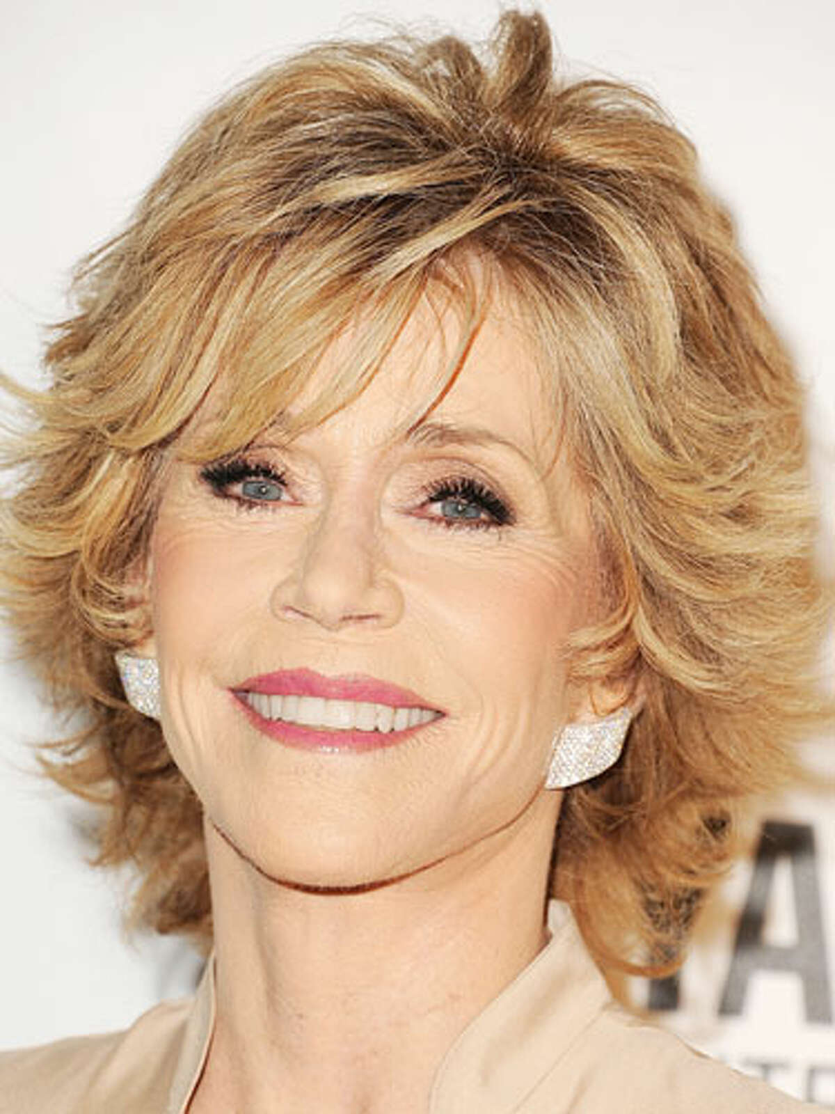 Jane Fonda's Modern Shag Want to go short? Try Fonda's modern take on the shag. To snag this look, ask your stylist to cut choppy layers from front to back with shorter layers framing your face. Style the layers flipped at the ends with molding gel to create the texture that makes this crop pop. 16 Celebs Who Look Better With Age10 Biggest Hair Care MythsHaircuts That Take Off 10 Years15 Slimming Superfoods To Try in 201310 Ways To Build Your Sexual Confidence