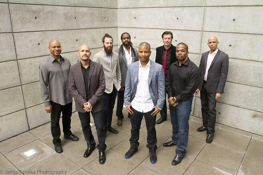 The eight-member SFJazz Collective performs Thursday through Sunday at the SFJazz Center. Photo: Jamie Tanaka