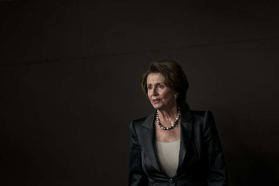 "Minority Leader Nancy Pelosi controls 201 votes in the House, and says Republicans are just ""stalling for time"" to combine the shutdown with the debt ceiling. Photo: Brendan Smialowski, AFP/Getty Images"