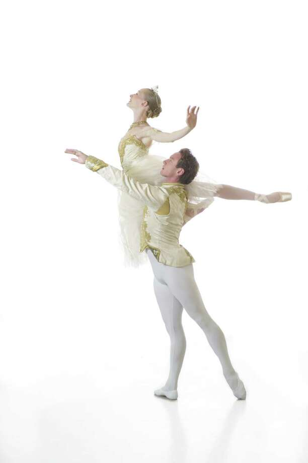 "Sarah Pautz and Ian Morris star in noted choreographer Ben Stevenson's ""Cinderella."" Photo: Courtesy Alexander Devora"