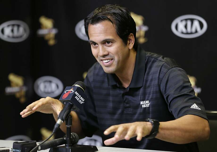 Erik Spoelstra Photo: Wilfredo Lee, Associated Press