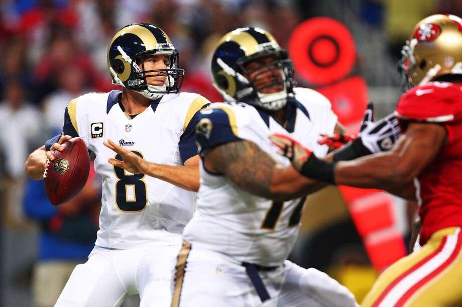Jacksonville (0-4) plus-11 ½ at St. Louis (1-3): Rams 17-9 Photo: Dilip Vishwanat, Getty Images