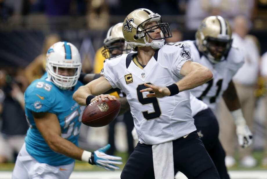 New Orleans (4-0) even at Chicago (3-1): Saints 30-27 Photo: Bill Haber, Associated Press
