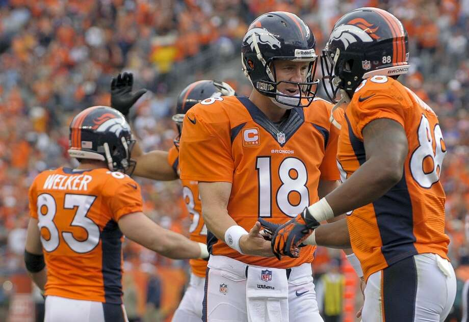 Denver (4-0) minus-7 ½ at Dallas (2-2): Broncos 33-23 Photo: Jack Dempsey, Associated Press
