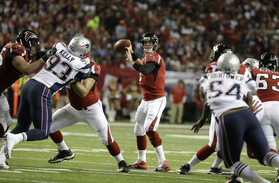 NY Jets (2-2) plus-10 at Atlanta (1-3): Falcons 30-17 Photo: David Goldman, Associated Press