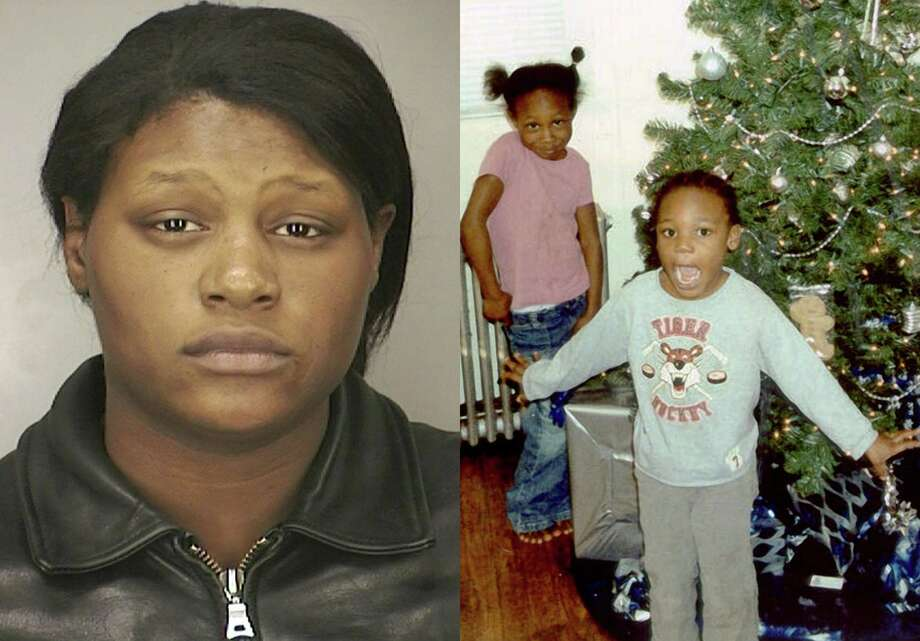 FILE - This combination of photos provided by the Nassau County Police Department shows Leatrice Brewer in 2003, and her children, Jewell Ward, and Michael Demesyeux, right. Jewell, 6, Michael, 5, and their brother Innocent Demesyeux, 1, were found dead Sunday, Feb. 24, 2008 in the same bed in their New Cassel, N.Y., home after their mother, Leatrice Brewer, 27, called police claiming she killed them. On Thursday, Oct. 3, 2013, a judge ruled that Leatrice Brewer, found not guilty because of mental disease or defect, will be taken from a psychiatric facility to testify about her request for a cut of the children's $350,000 estate in November 2013. Photo: Nassau County Police Department
