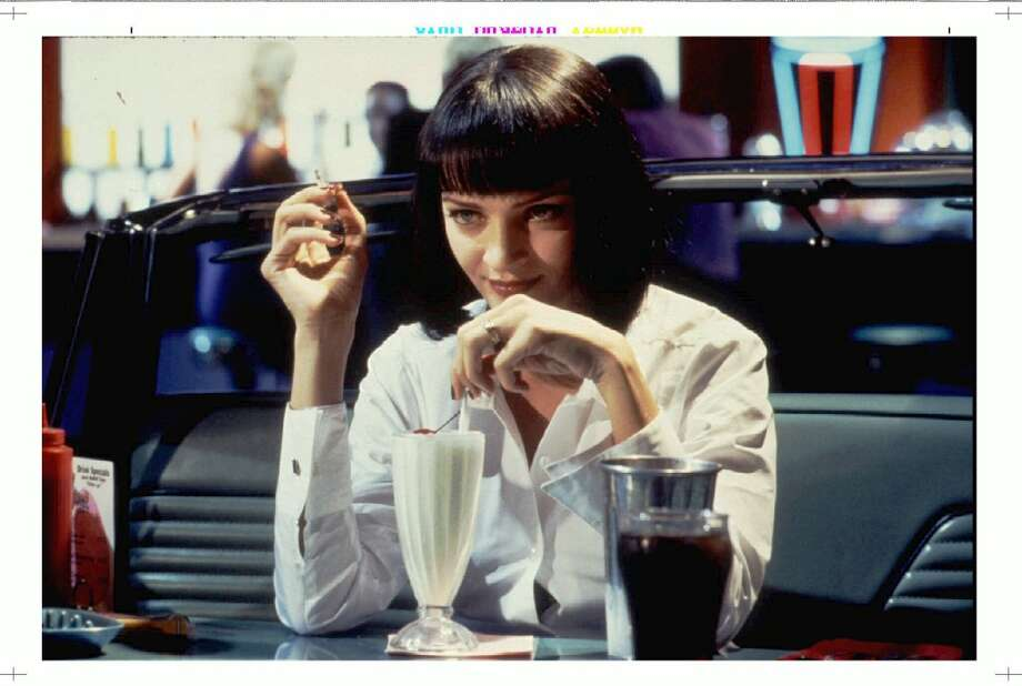"Actress Uma Thurman in ""Pulp Fiction.""  Has five of the last six tendencies.  Classic? Yes. Photo: MIRAMAX FILMS, REUTER"