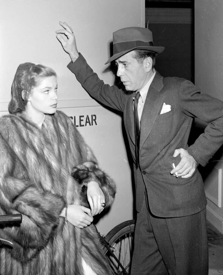 """""""The Big Sleep.""""  Not topical or complex, but the other tendencies are there, including a fairly great performance from Bogart. Classic? Apparently, though I wouldn't have guessed it at the time. Photo: AP"""