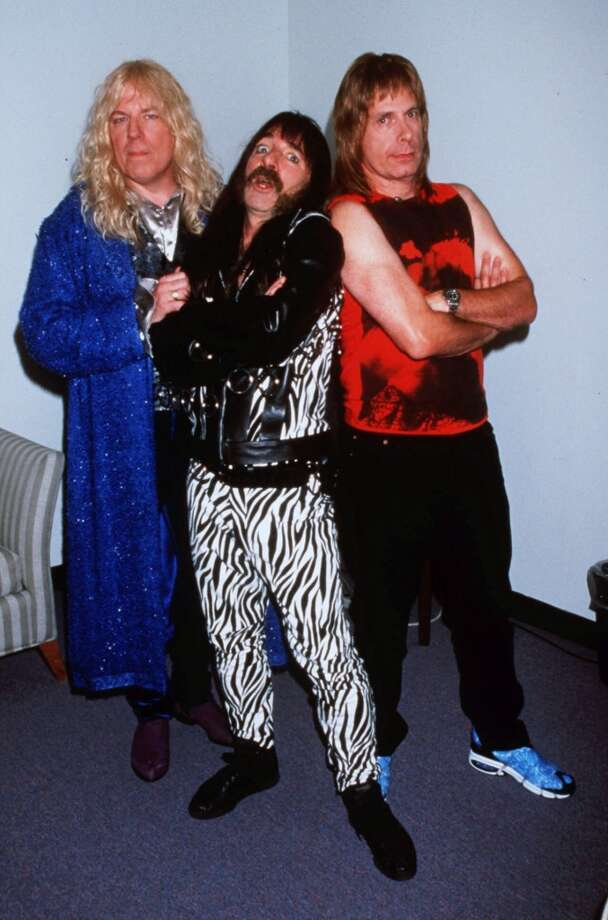 """""""This Is Spinal Tap.""""  Topical, probably timeless, great comic performances, two or three memorable scenes, and an overarching consciousness. Not exactly complex. Classic?  Probably a minor one, but yes. Photo: Lisa Rose/JPI, AP"""