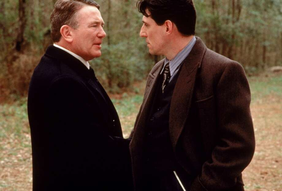 "Albert Finney and Gabriel Byrne in ""Miller's Crossing."" It has two or three memorable scenes, an overarching consciousness and, some would argue, complexity. I wouldn't. A classic?  I don't think so. Photo: 20th Century Fox 1990"