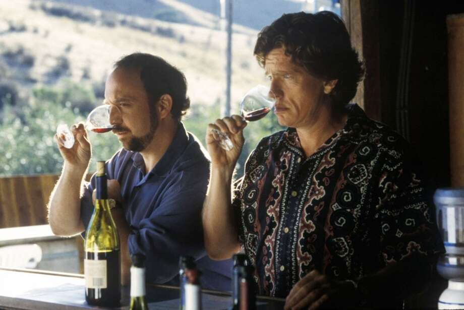 "Actors Paul Giamatti and Thomas Haden Church in a scene from ""Sideways.""  All six, but in a mild way.  Classic?  Maybe. Photo: HO, REUTERS"