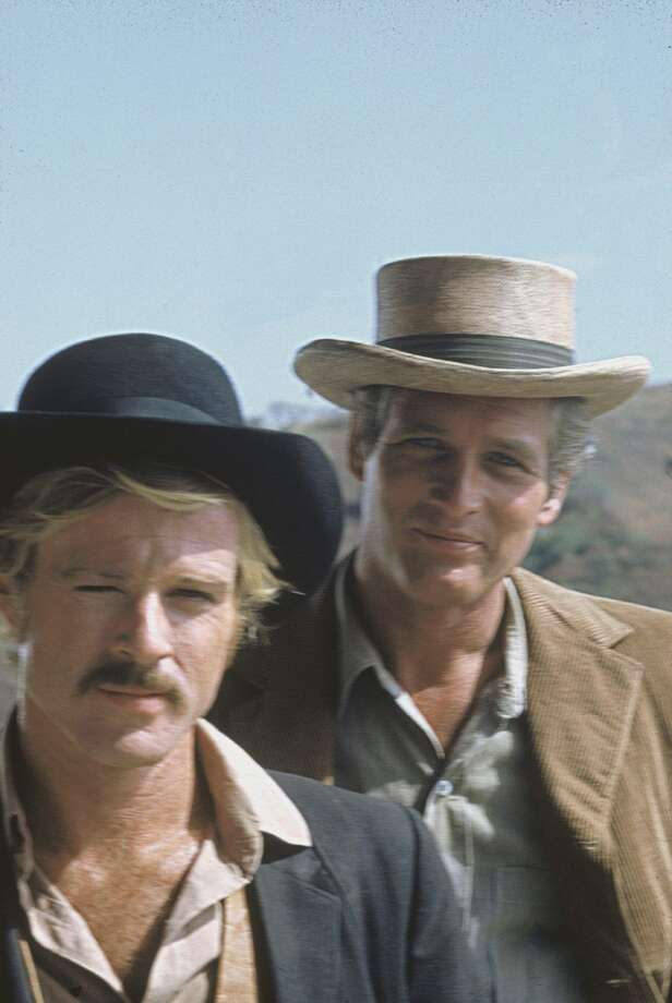 "Robert Redford and Paul Newman in ""Butch Cassidy and the Sundance Kid.""  Definitely topical in its portrayal of sex.  Timeless, too.  Two great performances, memorable scenes, an overarching consciousness and definitely a note of complexity at the finish. Classic?  Yes. Photo: San Francisco Film Festival"