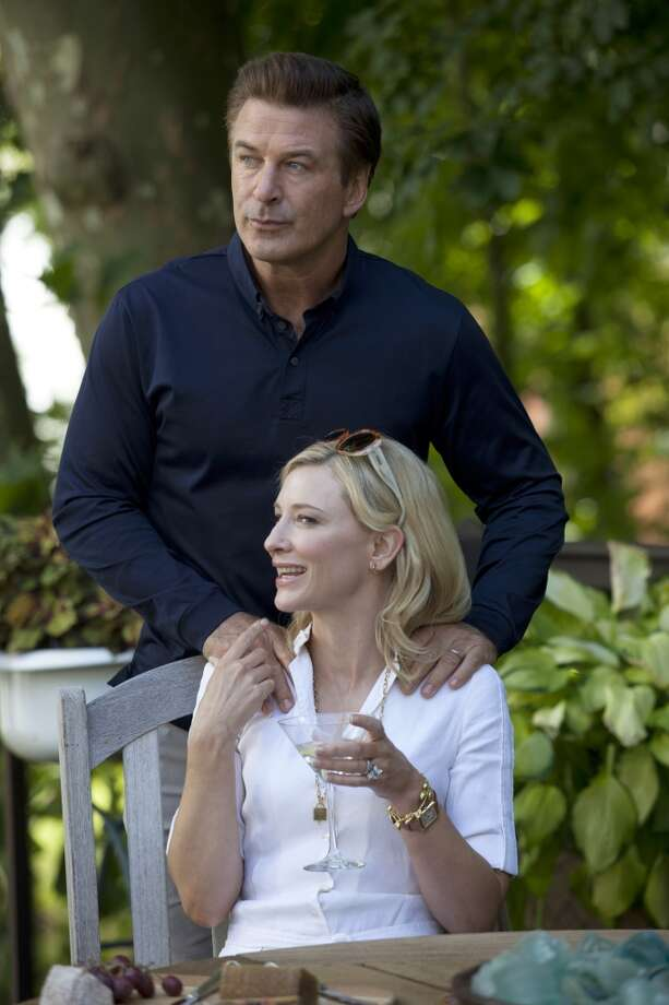 "Alec Baldwin and Cate Blanchett in a scene from ""Blue Jasmine.""  All six, with a possible reservation about #6, the note of complexity at the finish. Not sure that's there. Classic?  Probably. Photo: Associated Press"