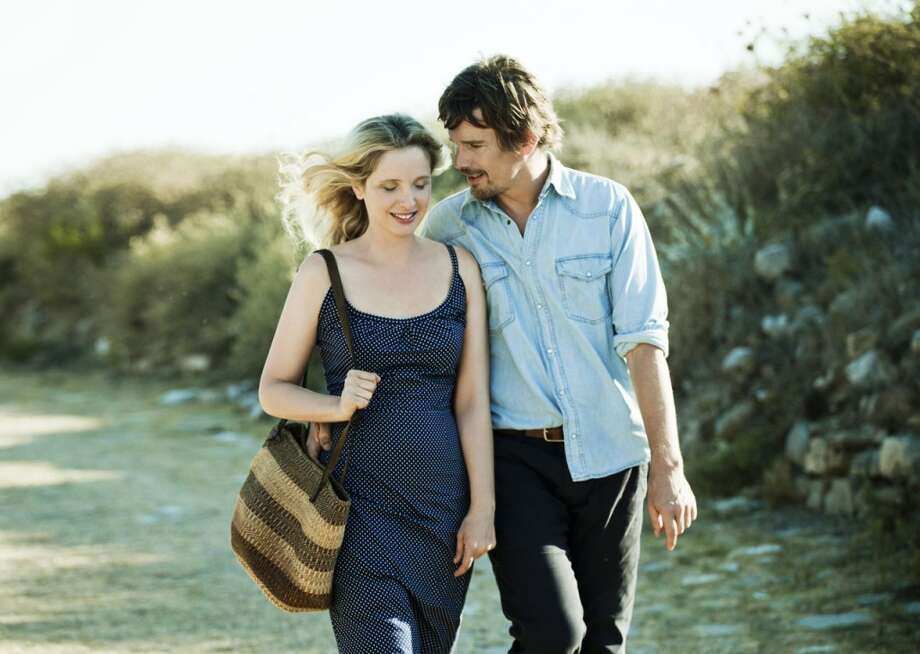 "Julie Delpy and Ethan Hawke in ""Before Midnight.""  Definitely has the first five tendencies. The last? Complexity? Maybe. The complexity would have to derive from a certain mixed feeling about their staying together. I'd say yes.  CLASSIC?  Probably. Photo: Sony Pictures Classics 2013"