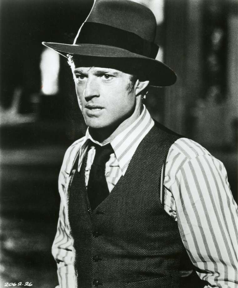 """Robert Redford in """"The Sting.""""  Not topical, but everything else is here.  Classic? Yes. Photo: Handout"""