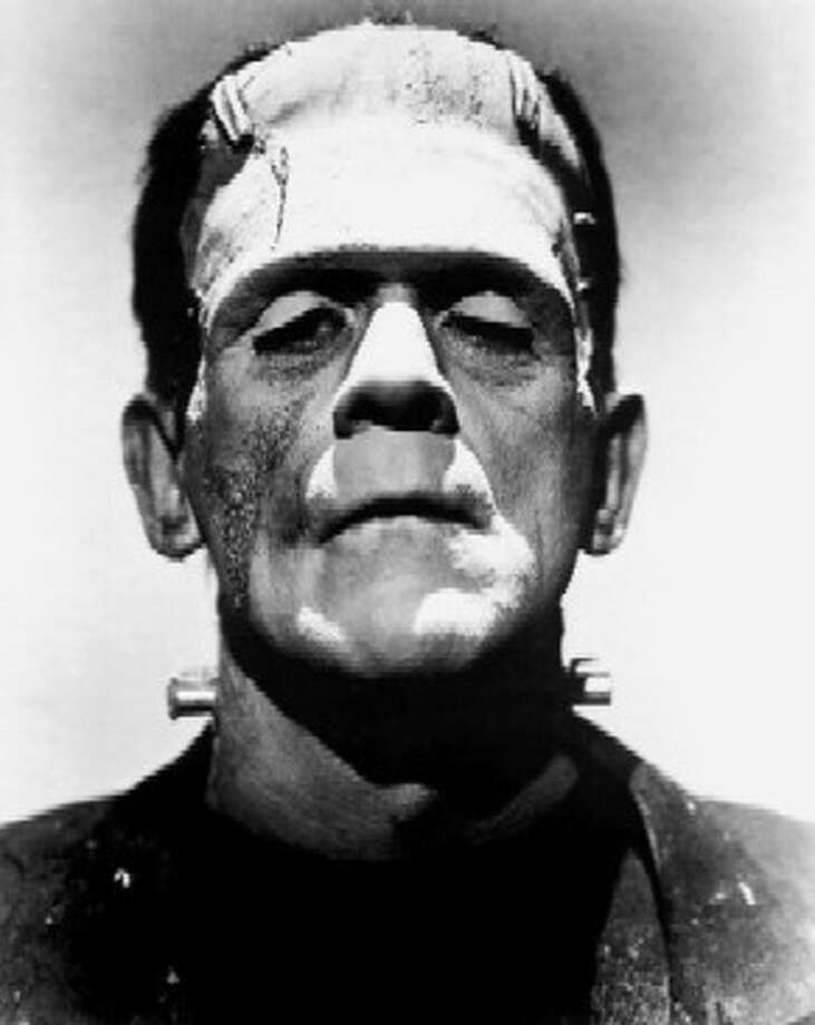 Boris Karloff as the monster in 