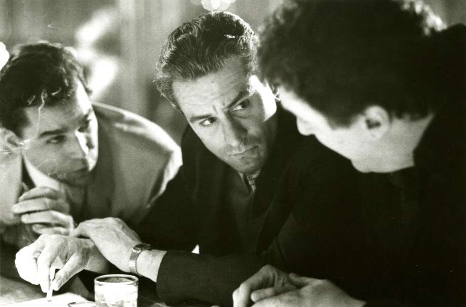 """Ray Liotta, Robert De Niro and Mike Starr in """"Goodfellas.""""  Definitely timeless, with great performances, memorable scenes and an overarching consciousness. Perhaps a note of complexity. Not sure. Classic?  Yes. Photo: Handout"""