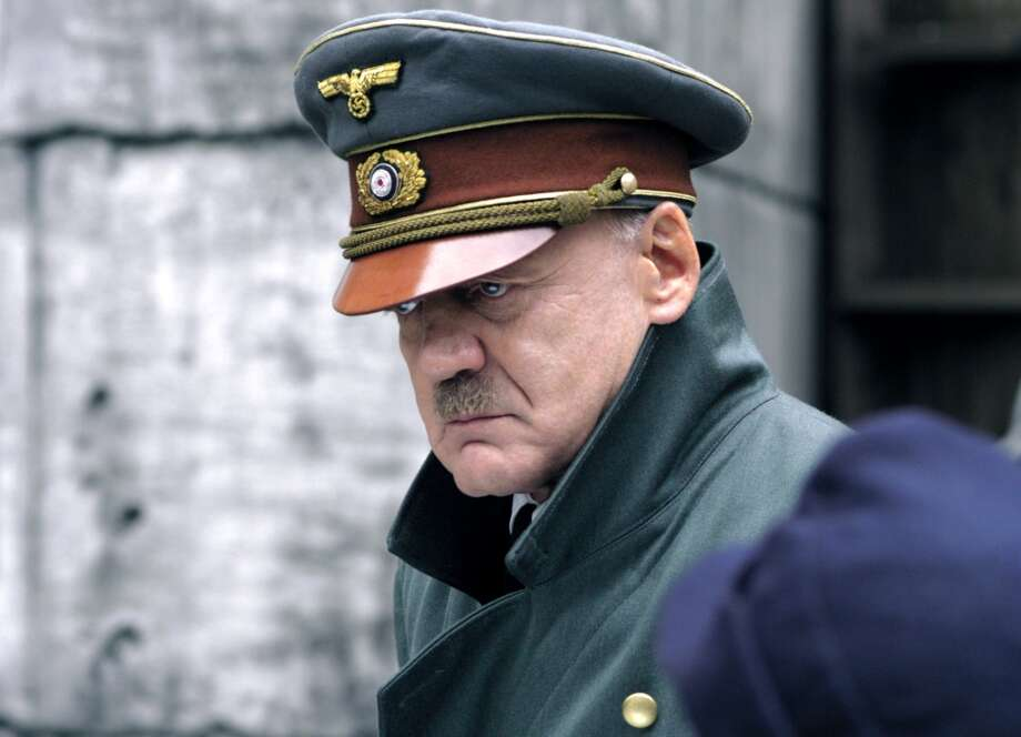 "Swiss actor Bruno Ganz  as Adolf Hitler in the movie ""Downfall.""   Five of the last. Classic? Definitely. Photo: AP"
