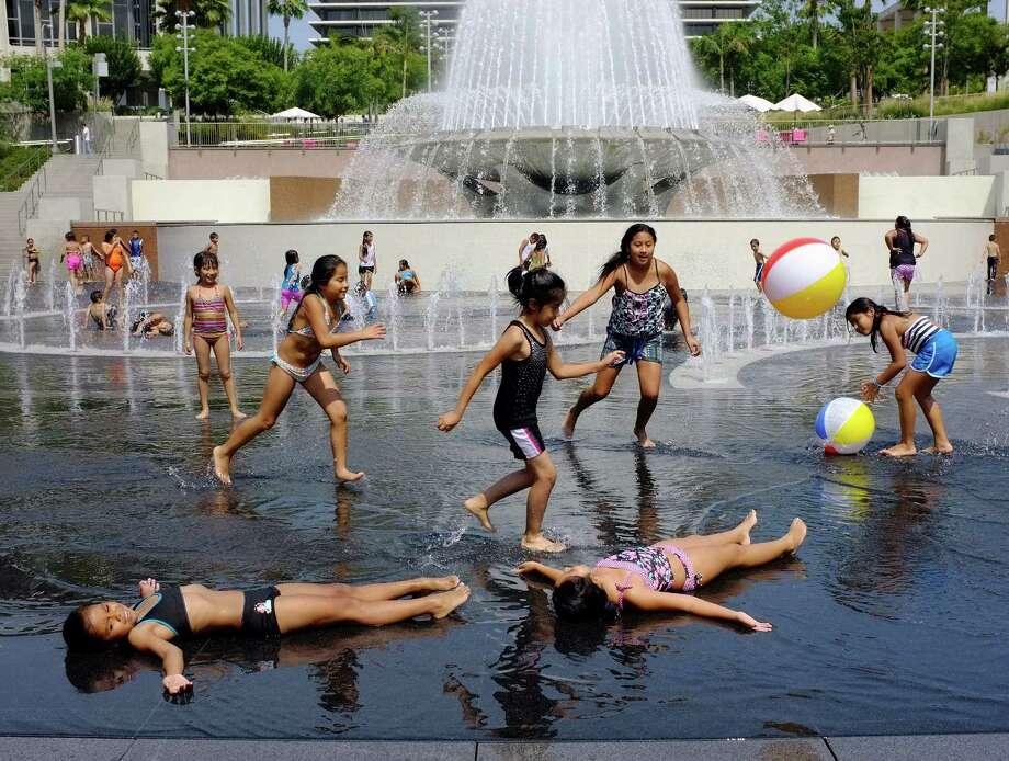 Grand Park, Los Angeles Photo: Associated Press