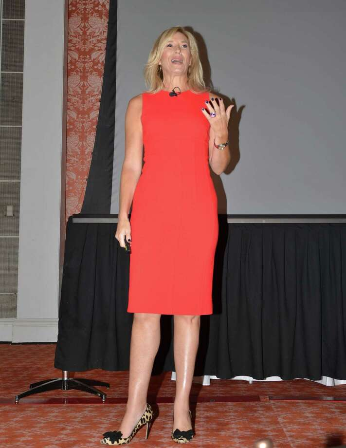 Debbie Maier spoke at the HRP event.