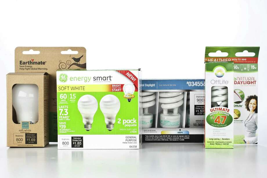 Consumers face a dizzying array of energy-efficient light bulbs on the shelves. Photo: Patrick T. Fallon / Houston Chronicle