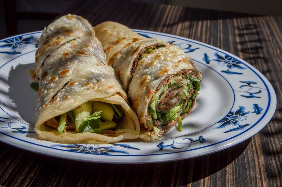 The Beef Wrap ($6.95) at Shandong Deluxe in San Francisco. Photo: John Storey, Special To The Chronicle