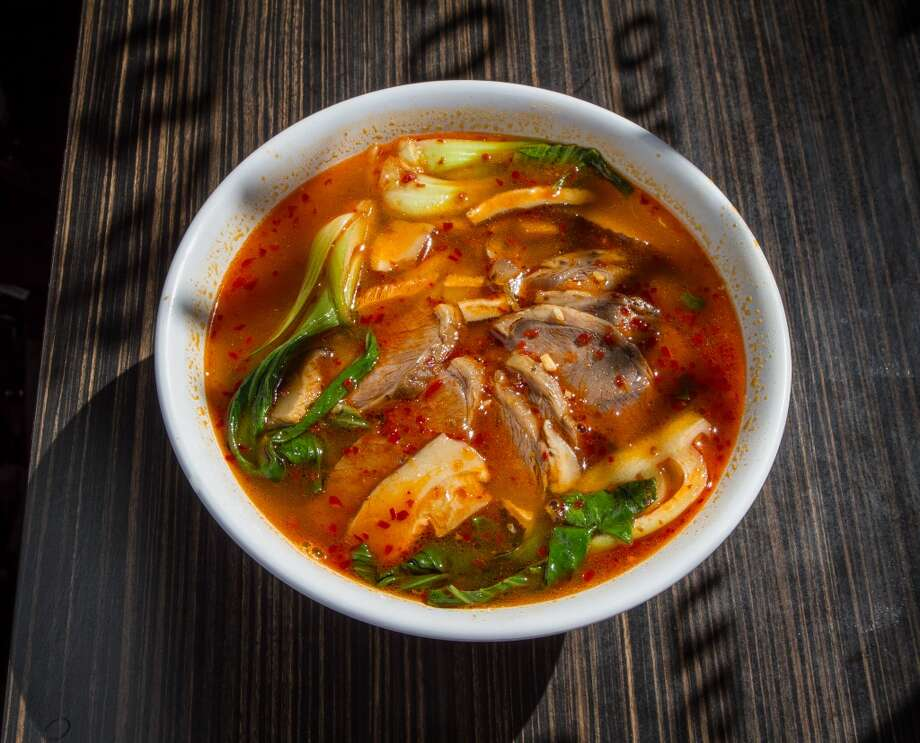 The Spicy Beef Noodles ($6.95) at Shandong Deluxe in San Francisco. Photo: John Storey, Special To The Chronicle