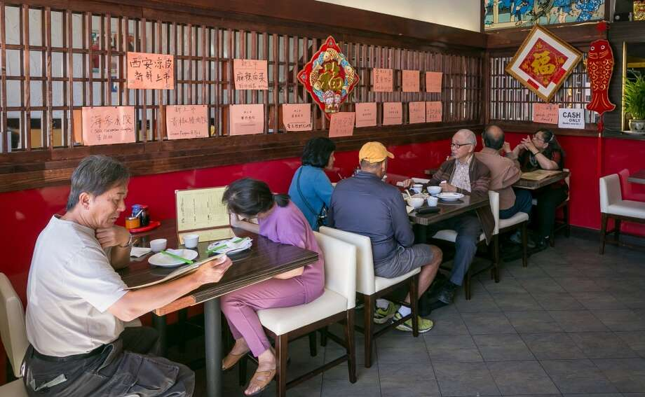 Diners enjoy lunch at Shandong Deluxe in San Francisco. Photo: John Storey, Special To The Chronicle