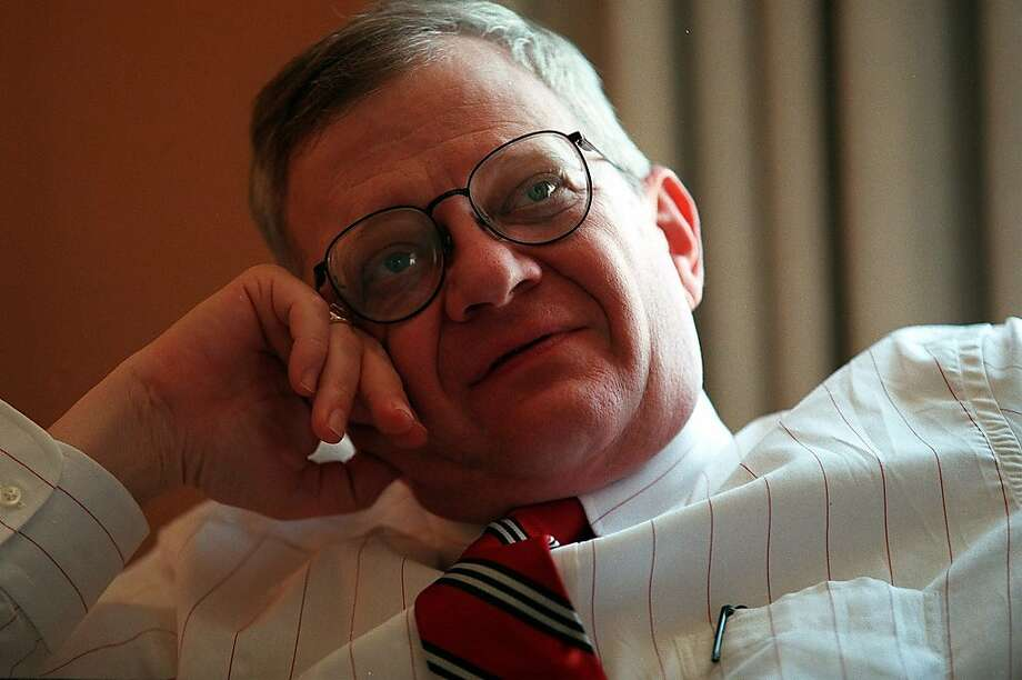 "Tom Clancy found quick fame with 1985's ""The Hunt for Red October."" Photo: Rodger Mallison, McClatchy-Tribune News Service"