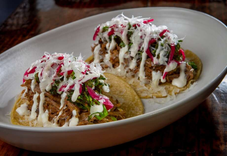 The Goat Tacos at Padrecito. Photo: John Storey, Special To The Chronicle
