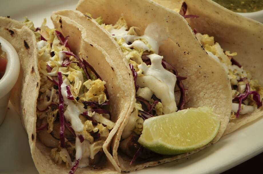 Fish Tacos at Unwind on Union restaurant. Photo: John Storey, Special To The Chronicle