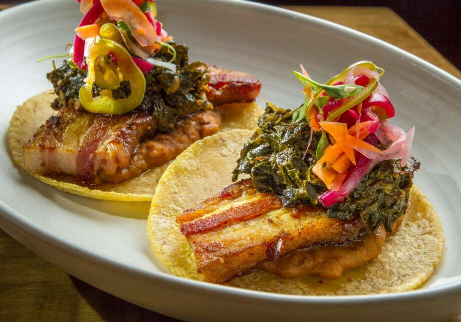The braised Pork Belly Tacos at Padrecito. Photo: John Storey, Special To The Chronicle