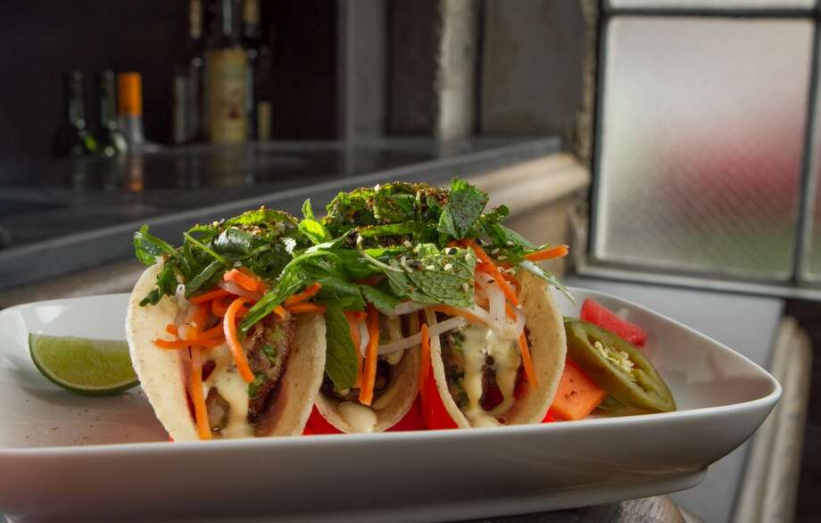 The Brawn Tacos at Trick Dog Bar. Photo: John Storey, Special To The Chronicle