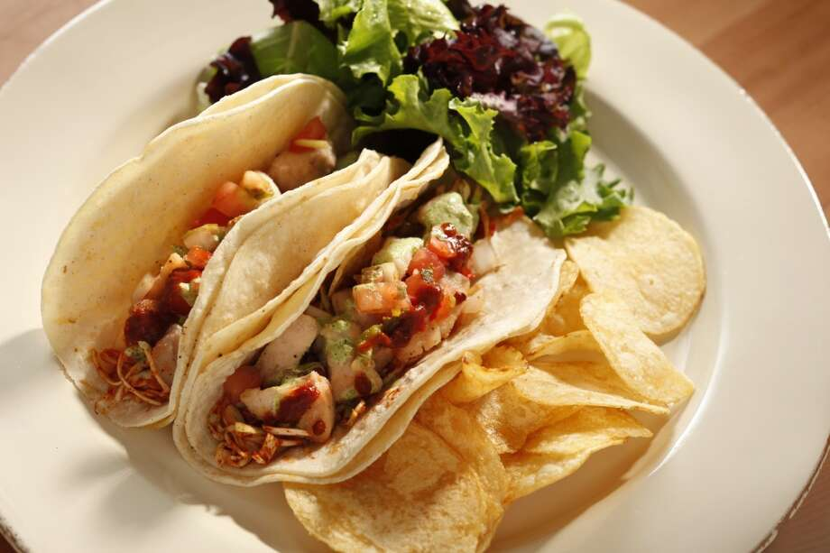 Fresh Fish Tacos from 21st Amendment. Photo: Craig Lee, Special To The Chronicle