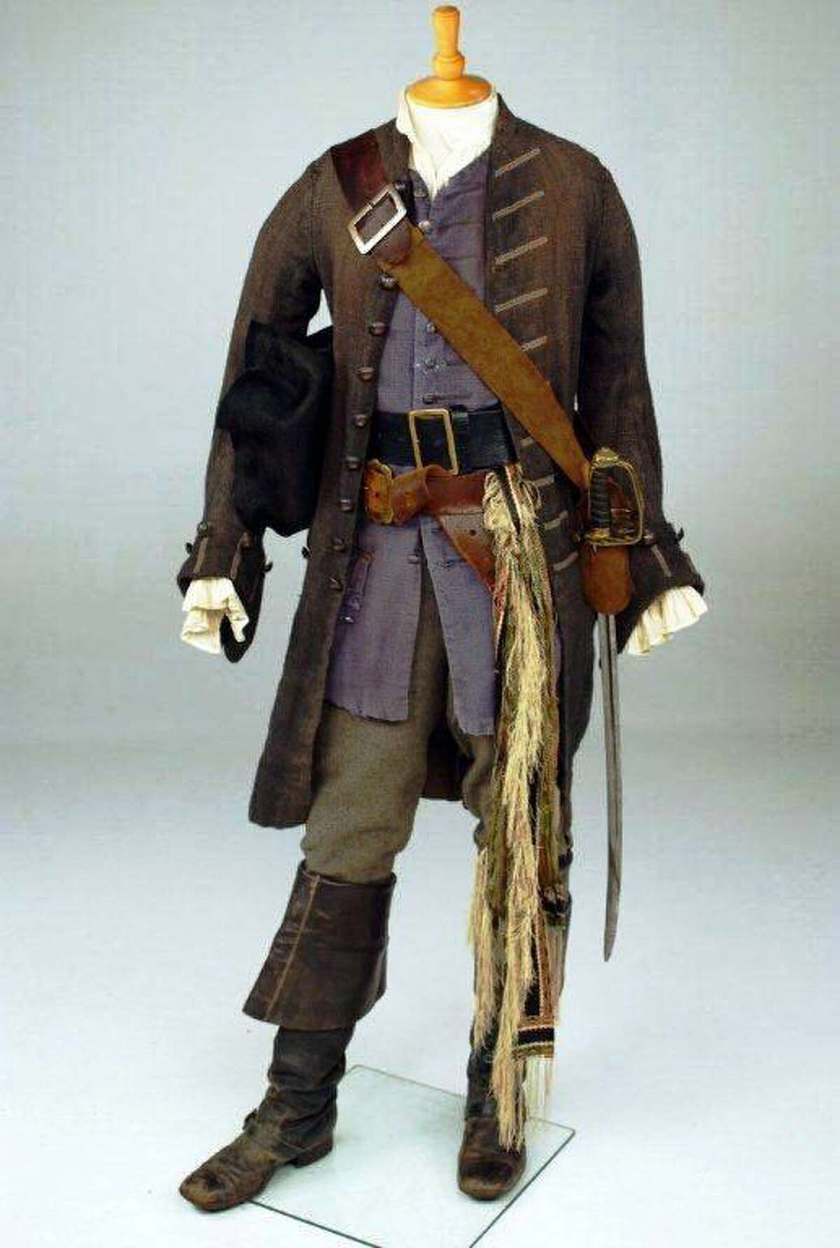 """Penny Rose won a best costume award from the Academy of Science Fiction, Fantasy and Horror Films for Depp's costume in """"Pirates of the Caribbean: The Curse of the Black Pearl."""""""