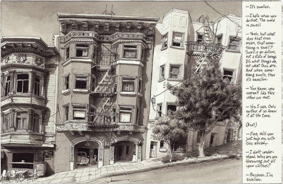 October 13, 2013 Drawn from Nob Hill, San Francisco Photo: Paul Madonna