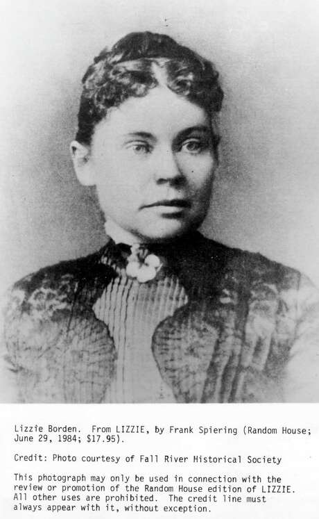 Lizzie Borden HOUCHRON CAPTION (05/17/1998): Lizzie Borden was acquitted of the Aug. 4, 1892, hatchet murders of her parents. / Handout