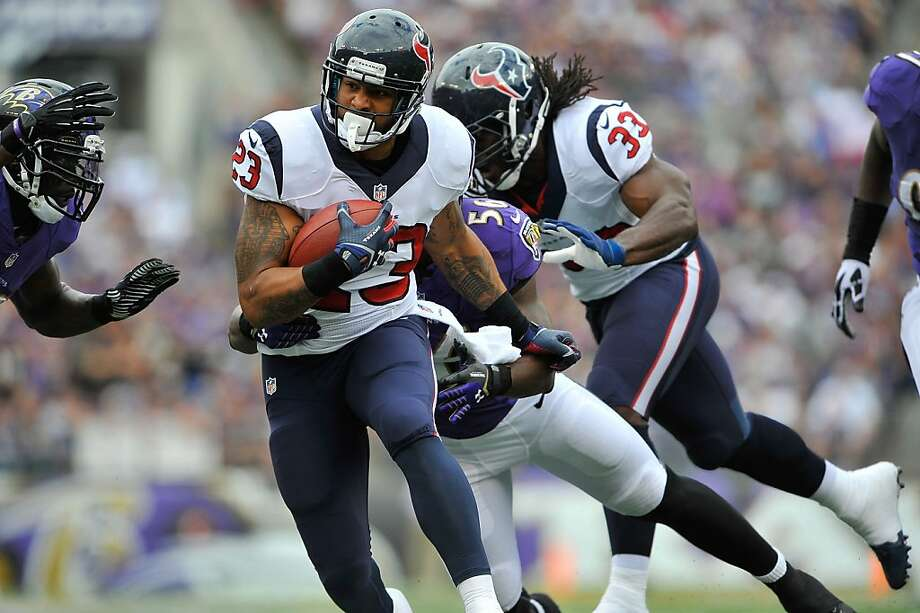 Arian Foster has been one of the NFL's top running backs the past three seasons. Photo: Larry French, Getty Images