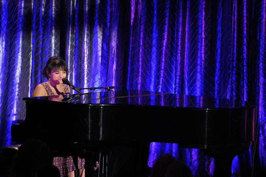 Singer Norah Jones performs onstage at the USC Shoah Foundation Institute 2013 Ambassadors for Humanity gala at the American Museum of Natural History on October 3, 2013 in New York, New York.  (Photo by Michael Loccisano/Getty Images for the USC Shoah Foundation Institute) Photo: Michael Loccisano, (Credit Too Long, See Caption)