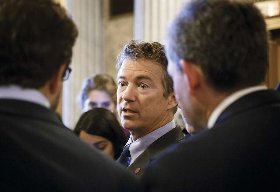 Sen. Rand Paul and Tea Party legislators have battled unsuccessfully to eliminate Obamacare. Photo: J. Scott Applewhite, Associated Press
