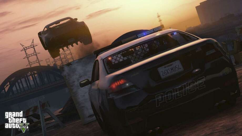 Good old-fashioned police chases and rowdy driving can be a main staple of your GTA 5 online play. Just watch out for those crack police snipers in the helicopters. Photo: Rockstar Games / Courtesy Images