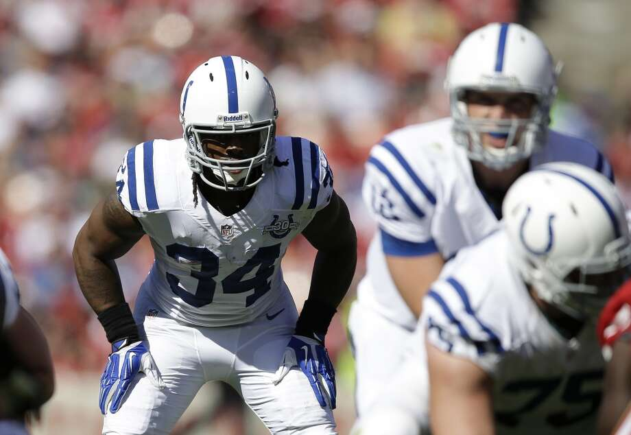 4. Containing RB Trent RichardsonRunning back Trent Richardson started this season as a member of the Cleveland Browns, where his talent seemed all but wasted. After two weeks, the Browns sent him to Indianapolis in exchange for a first-round draft pick in a rare midseason trade. Since then, the Browns have been winning somehow, yet the Colts have added a serious complement to Andrew Luck's passing game.  In two games as a Colt, Richardson has rushed for 95 yards and two touchdowns -- and over all four games he's played this season, for both Cleveland and Indianapolis, he has 200 rushing yards plus eight receptions for 57 more yards. He struggled against the formidable 49ers defense two weeks ago, putting up just 35 yards and a TD, and somehow managed only 60 yards in 20 carries against the lowly Jacksonville Jaguars last week.  But Trent Richardson is Trent Richardson -- as a rookie in 2012, he ran for 950 yards and 11 touchdowns -- and he is due to break out in a big way. If Seattle's defense has a weak point, it's against the run; the Seahawks are ranked 18th in the league giving up an average of 109.0 rushing yards per game. The Hawks allowed Houston's Arian Foster to gain 102 yards on the ground last week, but held San Francisco star Frank Gore to just 16 yards in Week 2.  We know Seattle's defense can stuff the run. The question is whether they can do it to Richardson on Sunday. We'll find out. Photo: Aaron Kehoe, Associated Press